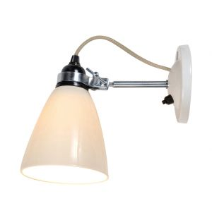 Hector Medium Dome Switched Wall Light