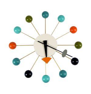 Ball Clock Multi-Coloured
