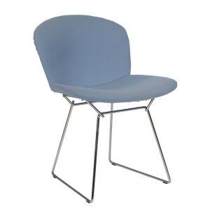 Bertoia Side Chair Upholstered Chrome