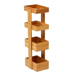 4-Tray Arena Caddy Bamboo
