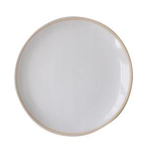 Organic Sand Cake Server White