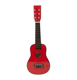 Miniature Guitar Red