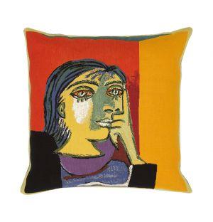 Picasso 'Portrait De Dora Maar' Cushion Cover 45cm x 45cm