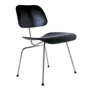 DCM Chair Black Ash