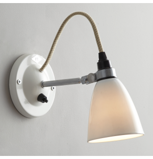 Hector Dome Wall Light PSC Natural Small