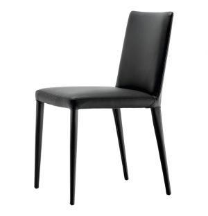 Bella Leather Side Chair