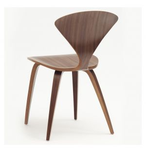 Cherner Classic Walnut Side Chair