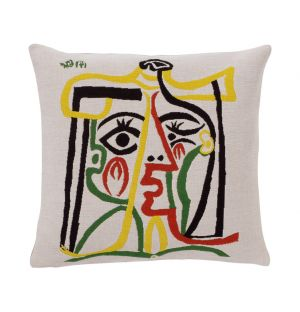 Picasso 'Head Of A Woman' Cushion Cover 45cm x 45cm