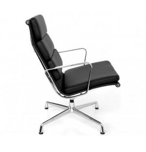 EA 216 Chair Black Leather
