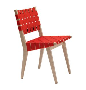 Risom Dining Chair Red