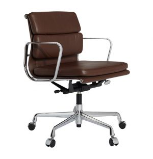 Eames EA217 Chair Brown Leather