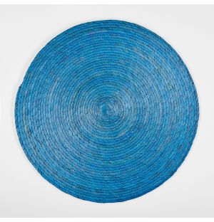 Round Placemat Blue 38cm