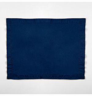 Linen Placemat Indigo 38cm x 50cm