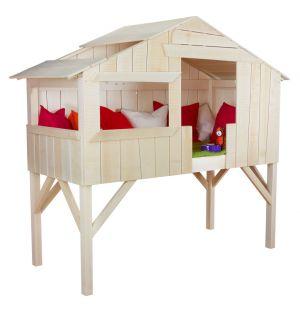 Treehouse Single Bed Limewood Unvarnished