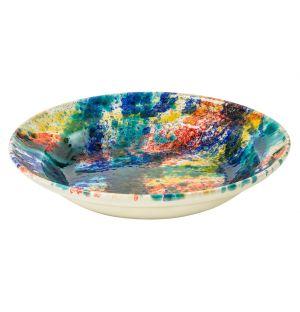 Multi-Colour Splatter Serving Platter