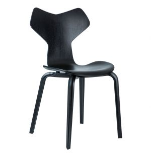 Grand Prix Chair Black Laminated Ash