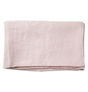 Linen Waffle Towelling Collection Soft Pink
