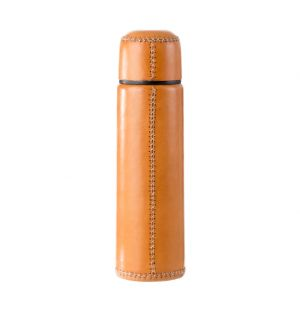 Thermos Flask Natural Leather 500ml