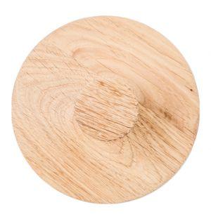 Oak Wall Hook Natural Medium