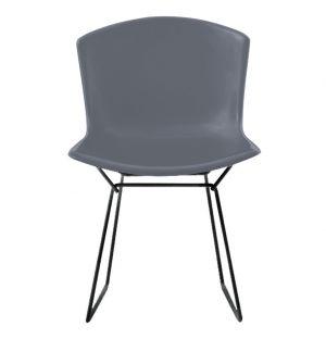 Bertoia Plastic Side Chair Grey