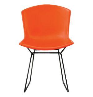 Bertoia Plastic Side Chair Red