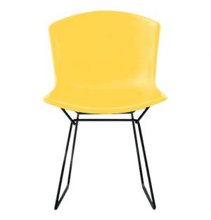 Bertoia Plastic Side Chair Yellow