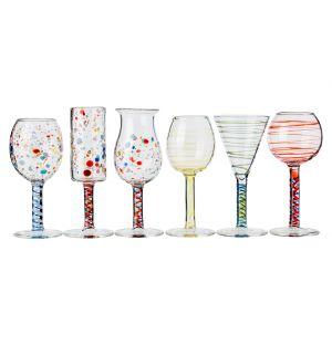 Maggiolini Set of 6 Liquor Glasses