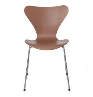 Series 7 3107 Chair Chocolate Milk Coloured Ash