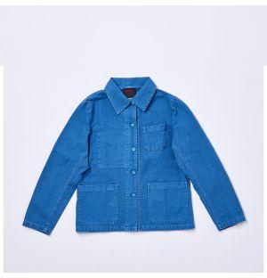 Women's 5C Workwear Jacket in Sky
