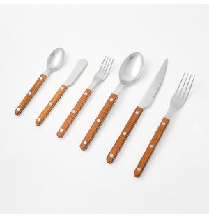 Bistrot Cutlery Collection Teak