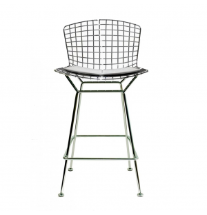 Bertoia Bar Stool Chrome