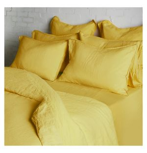 Ochre Bed Linen Collection