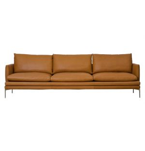 William Sofa Pelle Naturale Extra Leathers 3-Seater