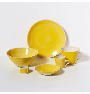 Brights Side Plate 23cm Yellow