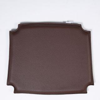 CH24 Wishbone Chair Leather Seat Pad Brown