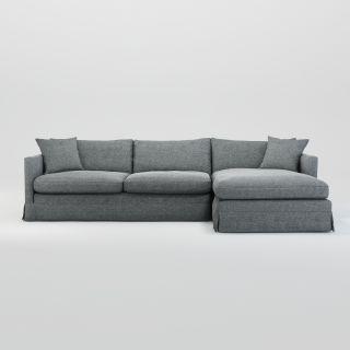 Rex Square Corner Sofa Right Facing